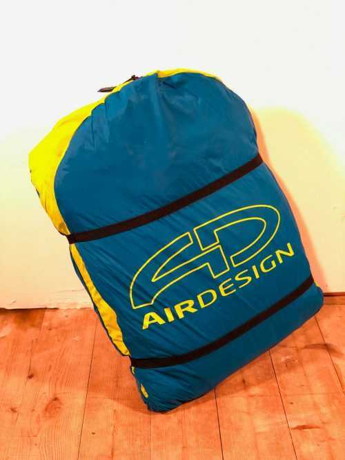 AirDesign 50/50 Airpack / Perfect packing volume for paragliders