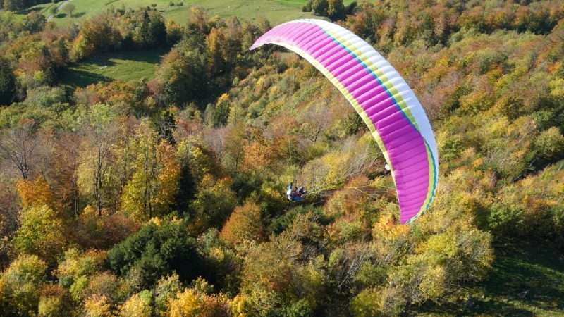 AirDesign Vivo lilack flying in France