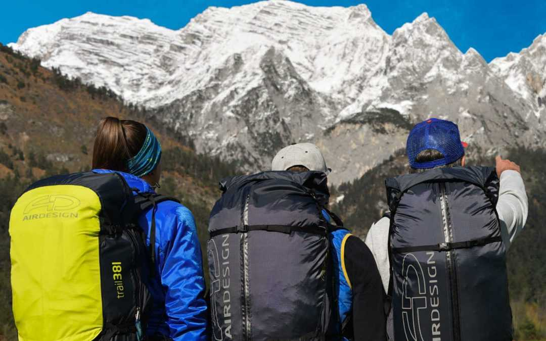 Neue Hike&Fly trail-Rucksack Serie