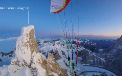 World premiere! Climb&Fly from Cerro Torre!