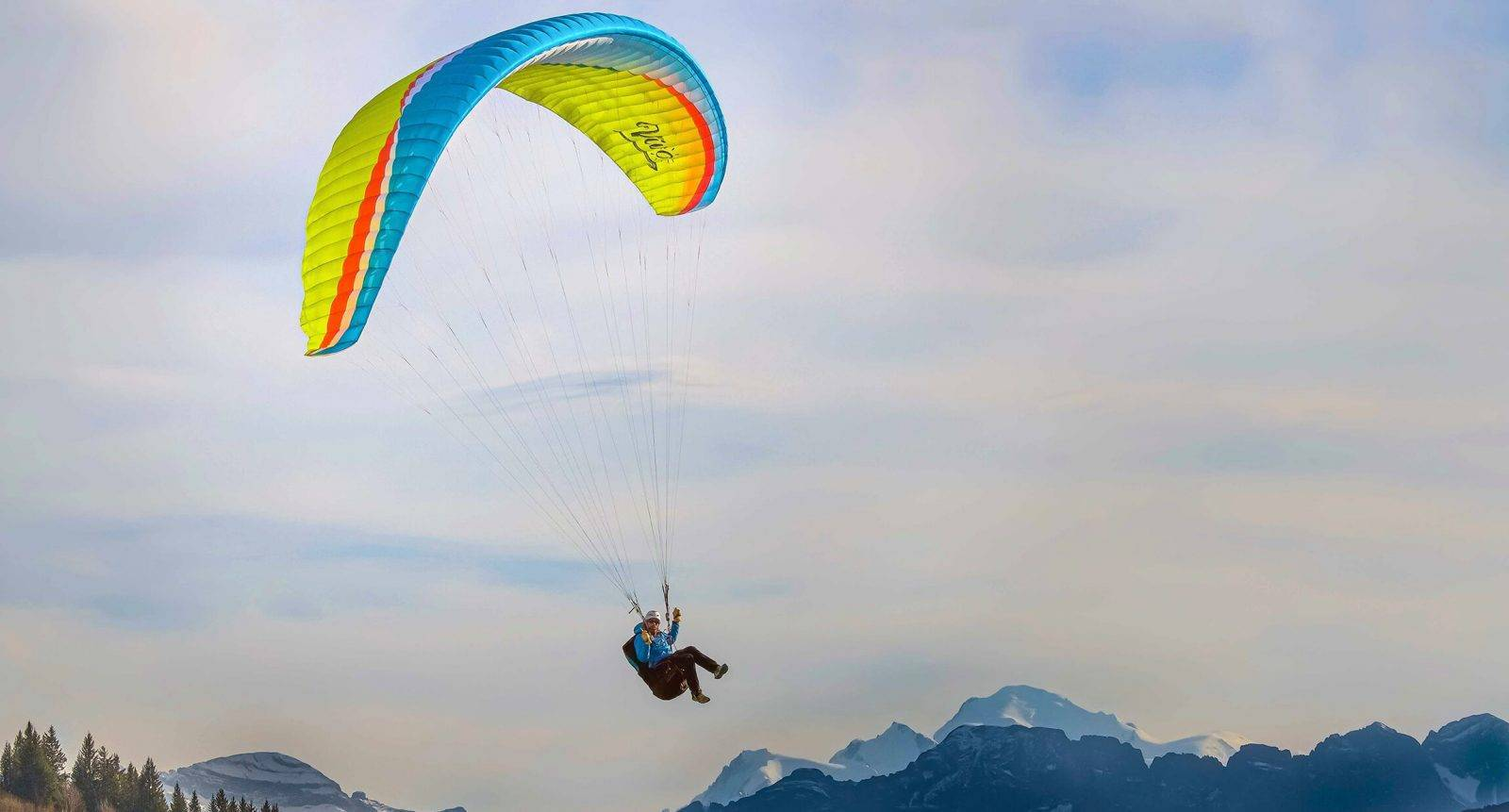 Vivo paragliding Air design